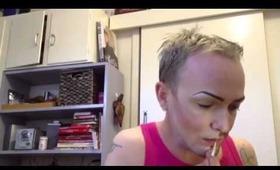 half man half woman transformation video