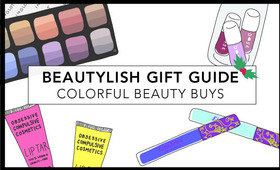 Beautylish Gift Guide: Colorful Beauty Buys