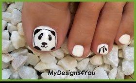 Fun Panda on Your Toenails  :)