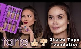 TARTE SHAPE TAPE FOUNDATION HONEST REVIEW | Maryam Maquillage