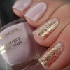 Max Factor #30 Chilled Lilac & Maybelline Brocades #220