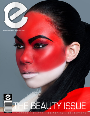 Tear: Official Ellements Magazine Beauty Edition Cover  Makeup: Bre Kali Photography: Kaneo Biggs  Hair: Hair by STC Model: Angelina Lee