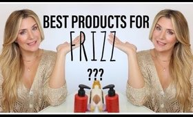 🥇 BEST PRODUCTS FOR FRIZZY HAIR 2019 🏅