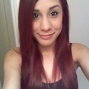When my hair was red :P