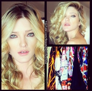 Makeup & Hair by me :-) Behind the scenes-David Bowie Editorial for BIG Magazine and Hammitt Handbags. Love my model!!!