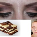 Wedding make up, chocolate inspiration
