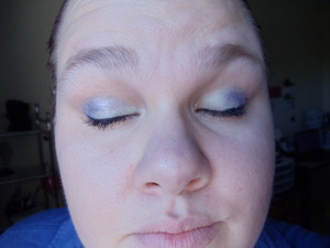 This is the eye makeup I wore on Easter