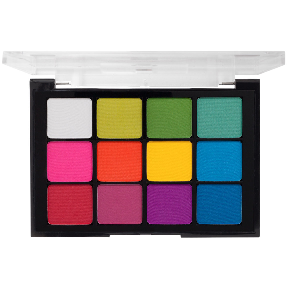 Viseart Eye Shadow Palette 8 Editorial Brights product smear.