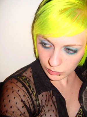 Bright Yellow Hair