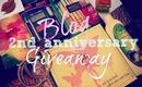 TheFabZilla Blog 2nd Anniversary Giveaway- Open International