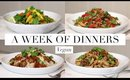 A Week of Dinners #3 (Vegan/Plant-Based) | JessBeautician