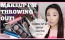 THROWING OUT MY MAKEUP! - Cleaning Out My Makeup Collection Part 1 - hollyannaeree