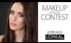 Zoe Karlis - L'OREAL Makeup Designer Contest