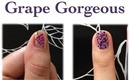 Summer Series-Grape Gorgeous 2 Nail Tutorials