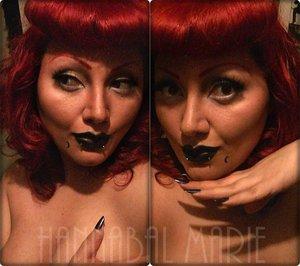 Bettie Bangs and some weird makeups.