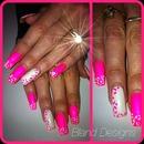 White hot pink!