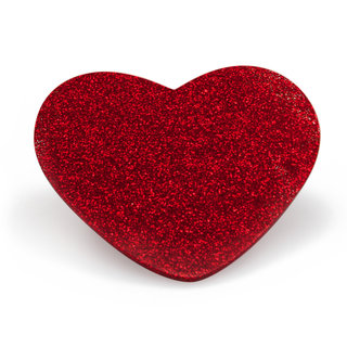 Paw Palette Regular Red Glitter Mini Luv