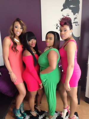 All makeup done by me!!! Our team photoshoot! #GlamSquad