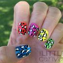 Neon Leopard Skittles