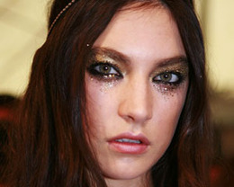 DSquared2 Makeup, Milan Fashion Week S/S 2012