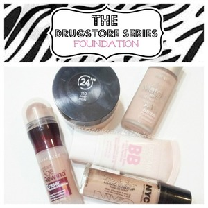 Top 5 drugstore foundation's on the blog today! http://www.hairsprayandhighheels.net/2013/01/the-drugstore-series-foundation.html#