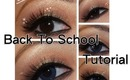 Quick Brown and Gold Eyeshadow Tutorial (Back To School or Fall Inspiration)