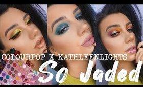 COLOURPOP So Jaded Review + Three Looks