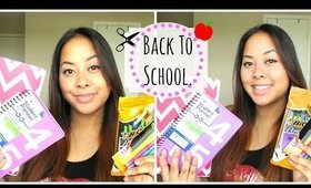✎ Back To School! ♡