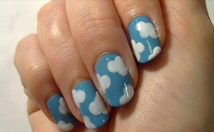 One of my favourite nail tutorials I've done. So simple! You can find it here http://www.youtube.com/watch?v=2i7LR6lCMlU