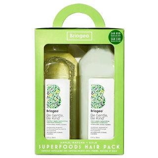 Superfoods Apple, Matcha + Kale Replenishing Shampoo + Conditioner Duo