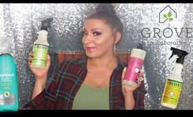 How I Saved Money On Natural Cleaning Products | Grove Collaborative HAUL