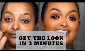 Client Natural Glam Makeover