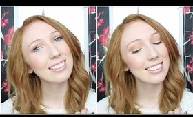 Quick & Easy 15 MINUTE Running Late Makeup Tutorial! Talk Thru