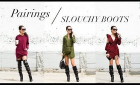 Pairings: How to Style Slouchy Boots