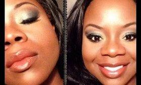 Quick Blue Eyeshadow Makeup Tutorial