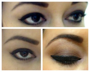 Is just the way I like to wear my dialy eyeshadow.  A soft brown smokey eye that ends in a shiny golder pigment. Hope that you like it!