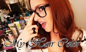 About My Red Hair Color