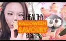 3 Low Calorie: Healthy Halloween Spooky Savoury Recipes