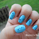 Pretty Blue Glitter