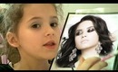 Demi Lovato Makeup Tutorial by Emma, age 7, for kids