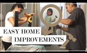 Easy Home Improvement Projects | Simply Nikki Vlogs