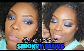 SMOKEY BLUES│BOX OF CRAYONS PALETTE