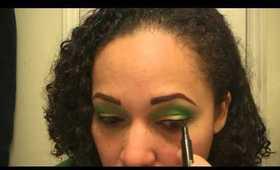 Makeup Tutorial: St. Patty's Day Green Fun