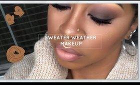 Sweater Weather Makeup Using Karrueche x Colour Pop