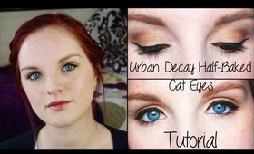 Urban Decay Half-Baked Cat Eyes Tutorial