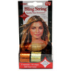 Bling String 500' Hair Tinsel with Clips - Hologram Gold/Orange