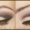 Day to night smokey eyes