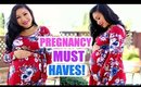 PREGNANCY MUST HAVES| Best Products for First, Second +Third Trimester Pregnancy