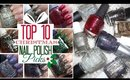 Top Ten Christmas Glitter Nail Polish Picks