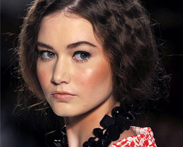 Elene Cassis Hair, New York Fashion Week S/S 2012